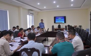 Tập huấn phổ biến quy định pháp luật cho các doanh nghiệp kinh doanh thương mại tại Cảng HKQT Đà Nẵng năm 2017