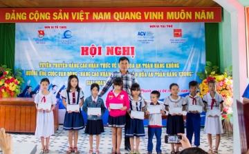 Hội nghị tuyên truyền nâng cao nhận thức về văn hóa an toàn hàng không tại năm 2018 khu vực lân cận Cảng hàng không Tuy Hòa