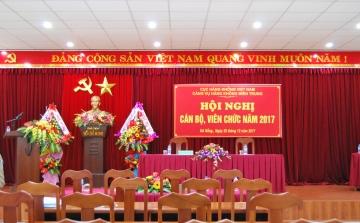 Hội nghị Cán bộ viên chức Cảng vụ Hàng không miền Trung năm 2017